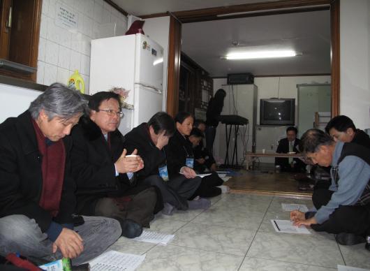 김철우 목사 예배인도