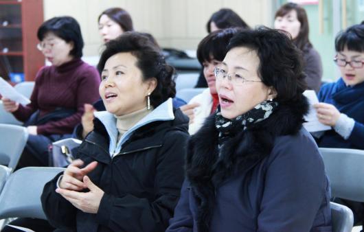 2010수화교실_초급16기,고급15기_개강예배