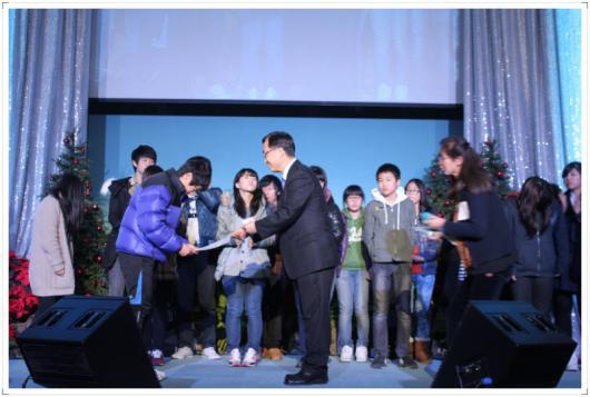 2010년 송년잔치 사진