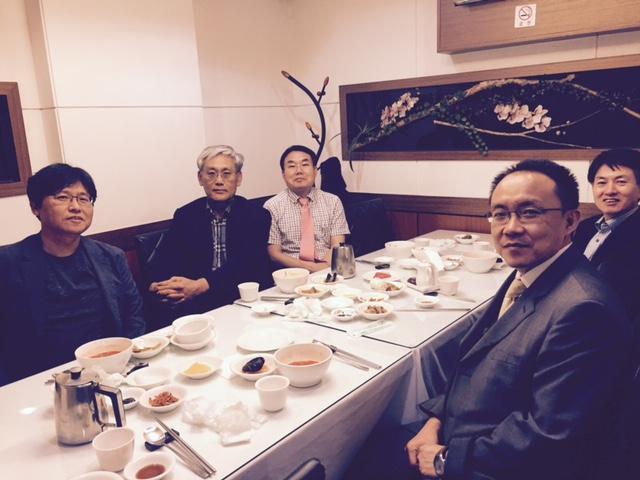교수선교회 회장단 모임(2015년9월6일)